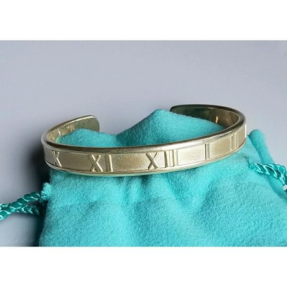 7e3eba66b Tiffany & Co. Jewelry | Tiffany Co Sterling Roman Numeral Cuff ...